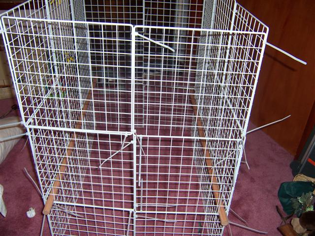 How to build an indoor bunny cage - How to make a rabbit cage ...
